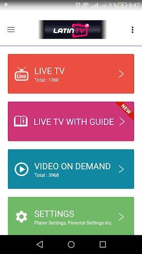 LATIN TV HD v3 screenshot 4
