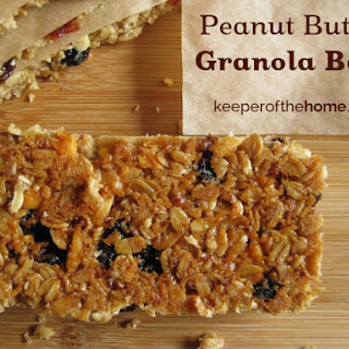 Perfect Peanut Butter Granola Bars.