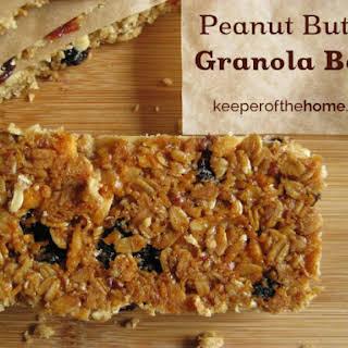 Perfect Peanut Butter Granola Bars.