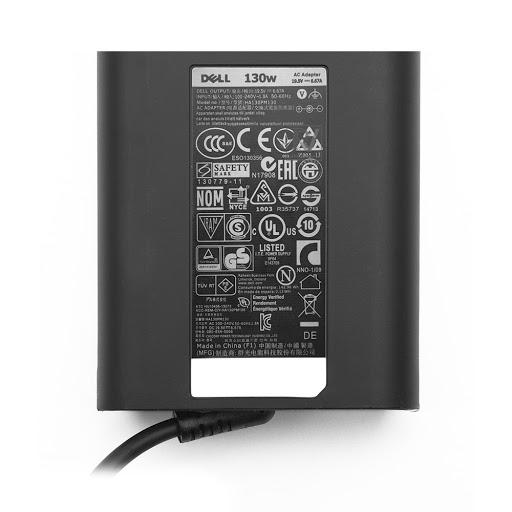 Adaptor Dell 19.5V-6.67A-130W (Đầu kim nhỏ) (4.5mm3.0mm) Zin (NQ)_2.jpg