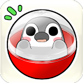 Pesoguin capsule toy game