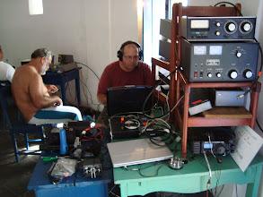 Photo: Montagem das estações e configuração de softwares
