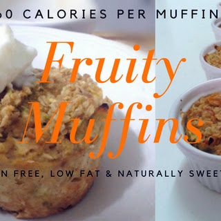 60 Calorie Apple & Courgette Muffin - Fast & Filling Breakfast or Snack Recipe