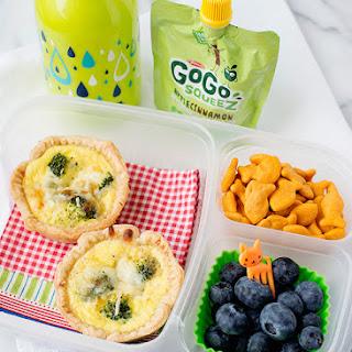 Mini Broccoli Quiche