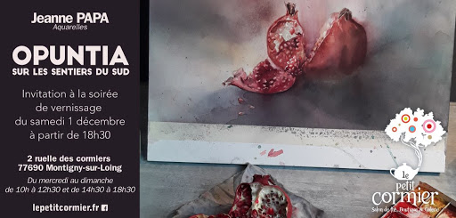 J.PAPA expo aquarelle 2018_OPUNTIA, sur les sentier du sudinvitation