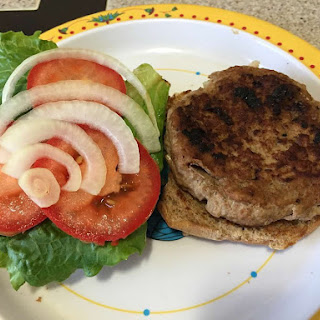 Tasty Turkey Burgers from Alexandersmom.com.