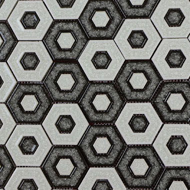 Mosaik Hexagon Invert