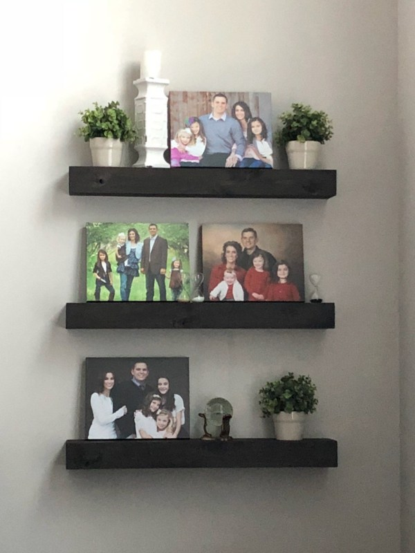 floating shelves, a craft that makes money