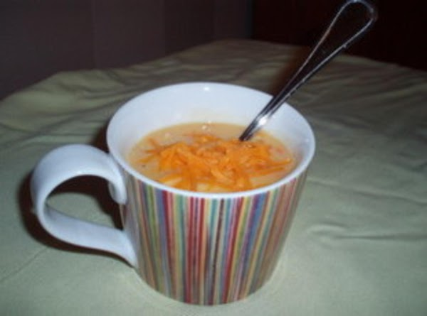 Chicken Cheese Soup For One Recipe