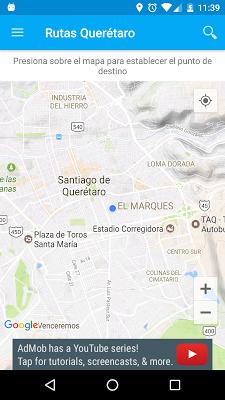 Rutas Queretaro - screenshot