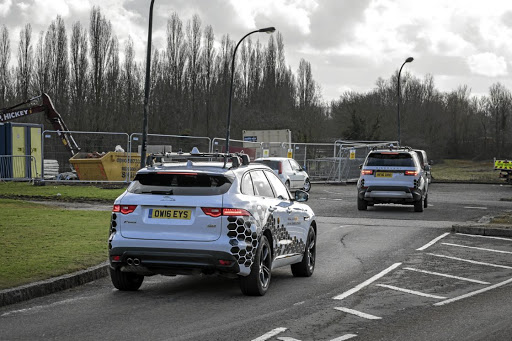 Jaguar Land Rover is testing connected cars on UK roads. Picture: MOTORPRESS