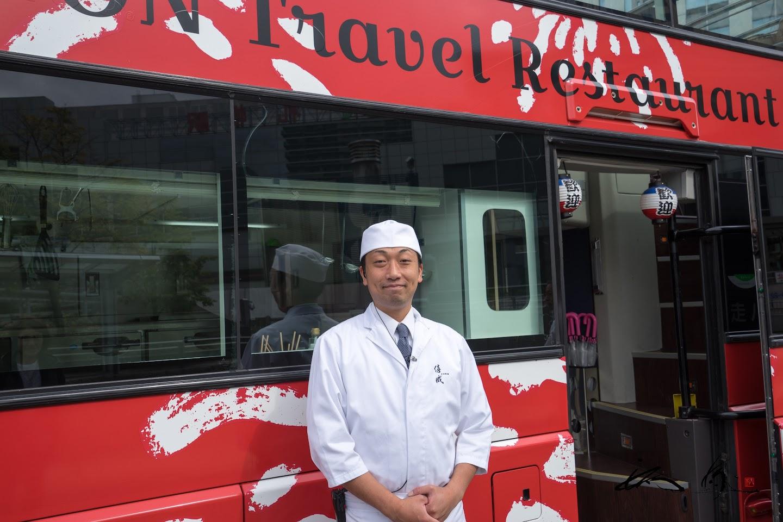 日本料理店「僖成(きなり)」の小山誠 料理長