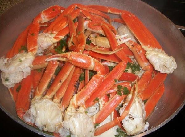 Garlic Crab Legs Recipe