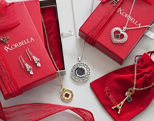 Korbella Eiffel Tower Jewelry Made from Pieces of the Actual Eiffel Tower
