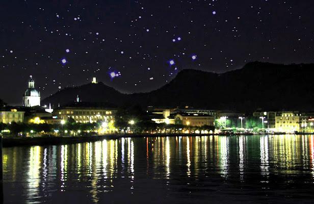 Notte stellata sul Rodano_ Van Gogh di alice_pasquini