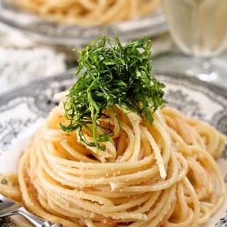 Japanese style pasta – Mentaiko or tarako spaghetti