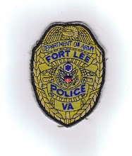 Photo: United States Department of Defense Police at Fort Lee, Badge