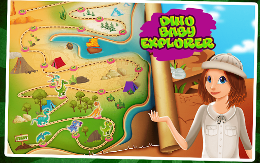 Dino Baby Explorer 1.1 screenshots 1