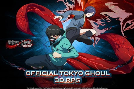 Tokyo Ghoul: Dark War Apk Download For Android and Iphone 6