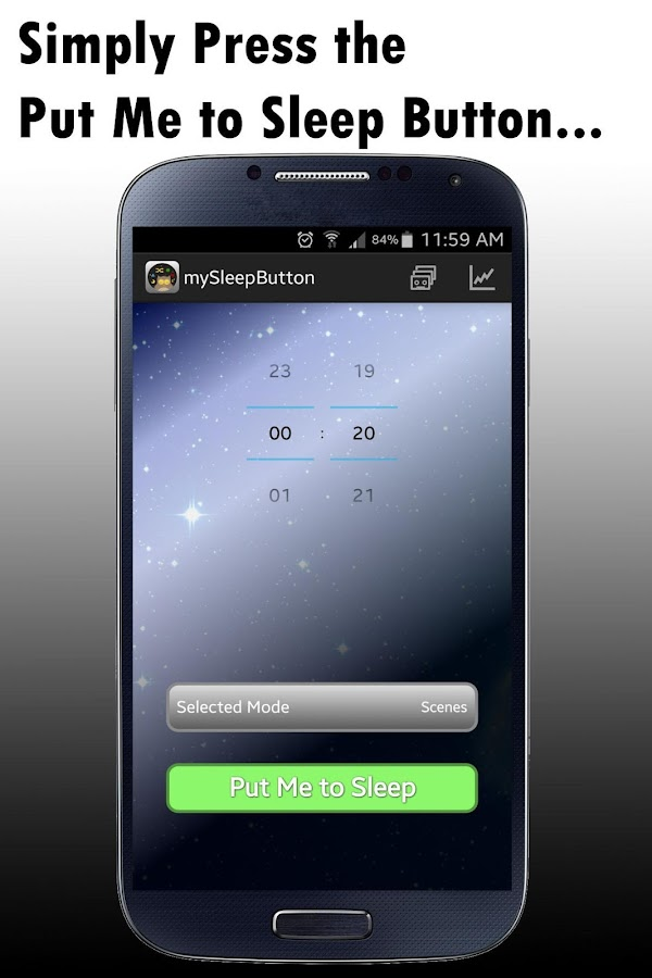 mySleepButton®- screenshot