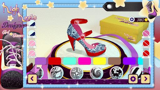 ハイヒールの靴女の子ゲーム
