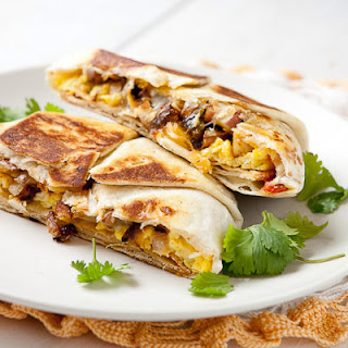 Breakfast Crunch Wraps.