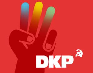 Grafik: 3 Finger hoch «DKP».