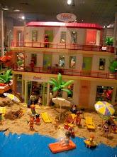 Photo: Cette année, exposition temporaire dédiée au Playmobil, grâce à une collection privée