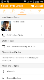 Shabbat.com by Rabbi Klatzko- screenshot thumbnail