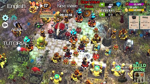 u2623ufe0f Clash Of Orcs u26faufe0f City Building Defense War TD 3.42 androidappsheaven.com 10