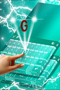 Glossy Keyboard Keys Theme - náhled