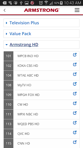 Armstrong 2.1 screenshots 2