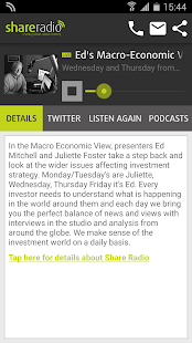 Share Radio- screenshot thumbnail