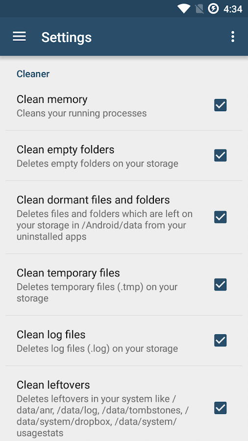 Root Cleaner- screenshot