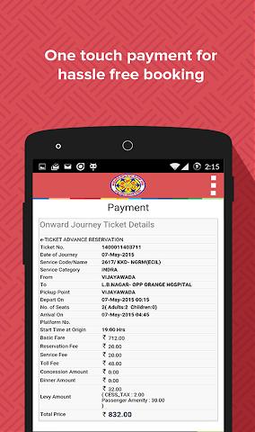 android Book APSRTC Screenshot 6