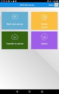 WHS UAE (Offline Survey) - náhled
