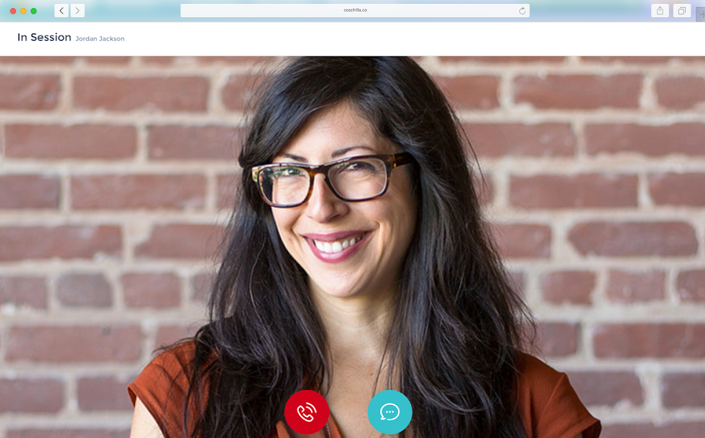 Meet your coach online with video calls, at home, work or where you feel most comfortable