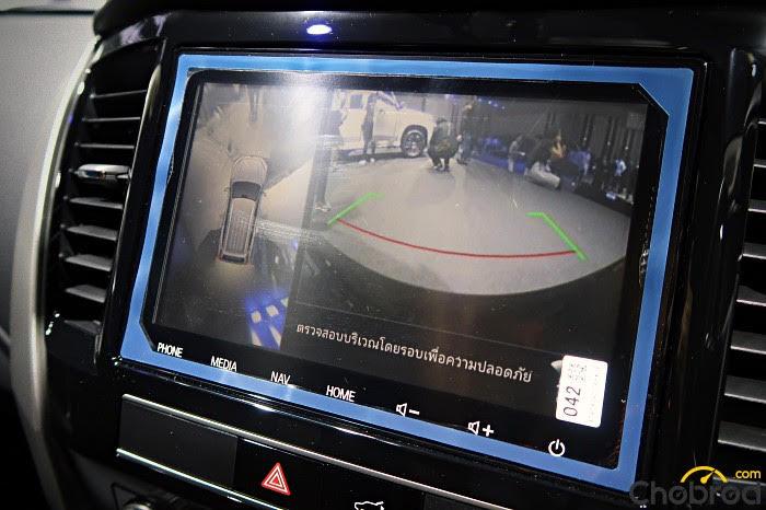 Mitsubishi Pajero Sport 2019 มีกล้องแสดงภาพได้รอบคัน