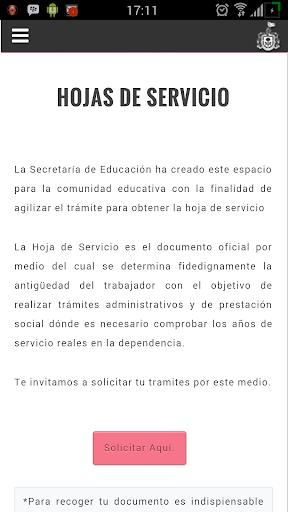 Servicios para docentes SE screenshot 3