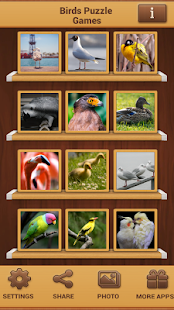 Ptáci Puzzle - náhled