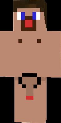 Скин Голового Мужика для Minecraft по Никам