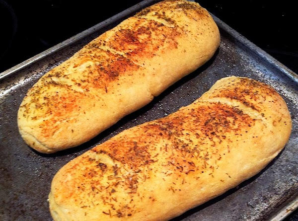 For the bread I used the roasted garlic and rosemary,salt,pepper on top and inside...