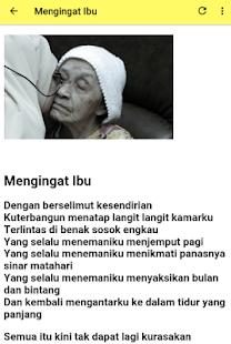 Puisi Untuk Ibu Tercinta - náhled
