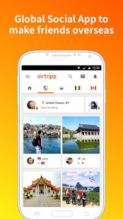 Airtripp:Free Foreign Chat- screenshot thumbnail