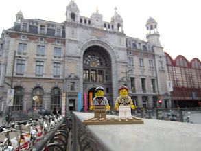 Photo: Antwerp: Antwerpen-Centraal railway station