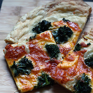 Kale Puff Pastry Pizza