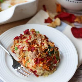 Gluten Free Tuna Noodle Casserole | Healthy, Low Carb Casserole.