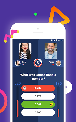 10s - Online Trivia Quiz with Video Chat screenshots 2