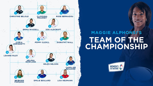 Maggie Alphonsi reflects on the 2021 Women's Six Nations and selects her Team of the Championship