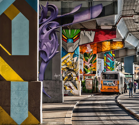 graffiti a Genova di Zerosedici